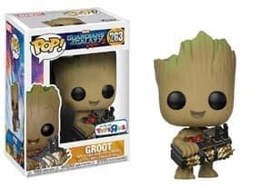Фигурка Грут держит бомбу (Groot Holding Bomb) из фильма Стражи Галактики № 283