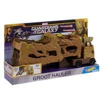 Автомобиль-тягач Грут Марвел Хот Вилс (Hot Wheels Marvel Groot Hauler Vehicle)