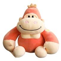 Мягкая игрушка Горилла (30 см) (Красный) купить в России