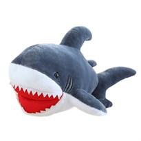 Мягкая игрушка большая серая акула (90 см) купить в России