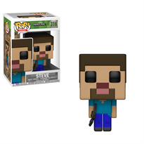 Фигурка Майнкрафт Стив FUNKO POP! GAMES (Minecraft - Steve)