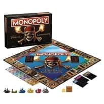 Настольная игра Монополия Пираты Карибского моря (Pirates of the Caribbean Ultimate Edition Monopoly Game)