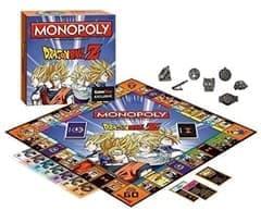 Настольная игра монополия Дракон Болл (Dragon Ball Z Edition Monopoly Game) купить