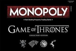 Настольная игра Монополия Игра Престолов (Monopoly Game of Thrones Board Game) купить недорого