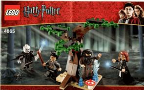 Конструктор Запрещенный лес (LEGO Harry Potter The Forbidden Forest 4865) 64 детали