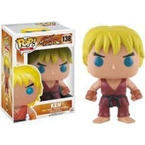 Фигурка Funko POP Street Fighter: Ken (Стрит Файтер Кен) #138