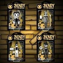 набор сет 4 фигурки Бенди и чернильная машина купить недорого