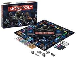 Настольная игра Монополия Хало (MONOPOLY: Halo Collector's Edition Board Game)