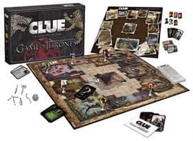 Настольная игра Клуедо Игра Престолов (Clue Game of Thrones Board Game)