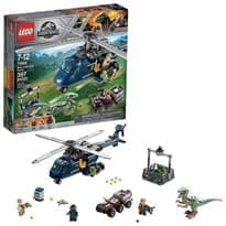 Лего Дежурный вертолет (Jurassic World Blue's Helicopter Pursuit 75928 ) 397 деталей купить
