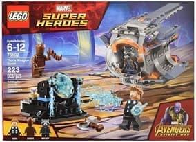 Лего Создание оружие Тора ( LEGO Marvel Thor's Weapon Quest 76102) 223 детали