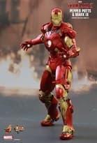 Фигурка Железный Человек Mark IX и Пеппер Потс (Hot Toys Iron Man Mark 9) 31 см в Москве