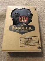 Плюшевый черный монстр Fuggler 27 см Super01.ru