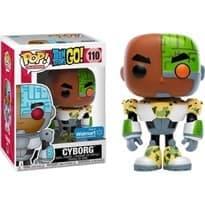 Фигурка Киборг (Cyborg) эксклюзив для Walmart Юные титаны, вперед № 110 купить