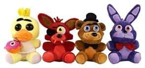 Набор плюшевых игрушек 5 ночей с фредди (ФНАФ)