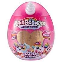 Мягкая игрушка- сюрприз Rainbocorn, золотая