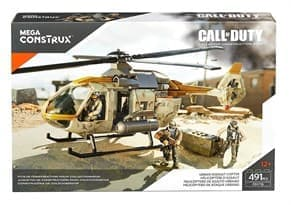 Конструктор Call of Duty Urban Assault Copter 491 деталь