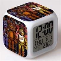 Часы с атрибутикой игры Фнаф купить в Москве