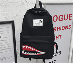 Рюкзак с улыбкой Watch Dogs (Черного цвета) купить в Москве