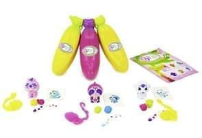 Набор Банановые игрушки желтая, розовая и желтая (Bananas Collectible toys) купить в Москве