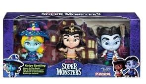 Набор фигурок Клео, Драк, Катя из Супер Монстры (Super Monsters) купить в Москве