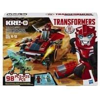Конструктор Саудвайп и Хаммерстрайк (Transformers SIDESWIPE) 98 деталей купить в Москве