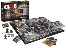 Настольная игра Монополия CLUE 5 ночей с фредди (CLUE Five Nights at Freddy)