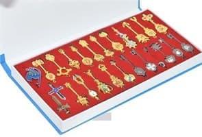 Набор брелоков - ключей Хвост Феи (Fairy Tail) купить