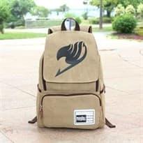 Рюкзак с лого Хвост Феи (серый) купить