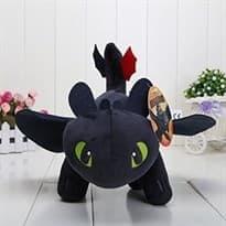 Плюшевая игрушка Беззубик 35 см с мультфильма Как приручить дракона купить недорого