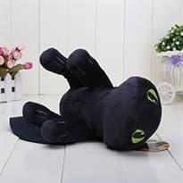 Плюшевая игрушка Беззубик 35 см с мультфильма Как приручить дракона купить