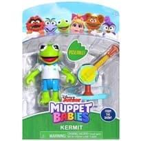 Подвижная фигурка Кермит из Малыши Маппет (Kermit Muppet Babies) 7 см купить