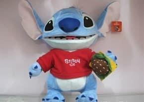 Мягкая игрушка Стич в футболке 30 см купить