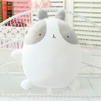 Плюшевая игрушка кролик Моланг серый (25 см) купить