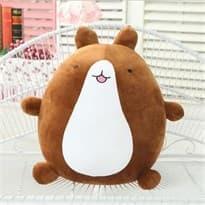 Плюшевая игрушка кролик Моланг бело - коричневый (25 см) купить
