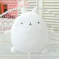 Плюшевая игрушка кролик Моланг белый купить