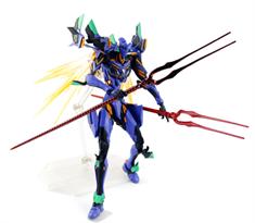 Подвижная фигурка Евангелион Эва с оружием (Evangelion Action Figure) 12 см купить