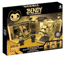Конструктор Место действия Комната (Bendy and The Ink Machine - Room Scene) 265 деталей
