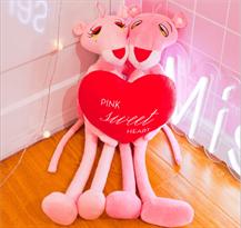 Плюшевые игрушка Розовые Пантеры с плюшевым сердцем купить