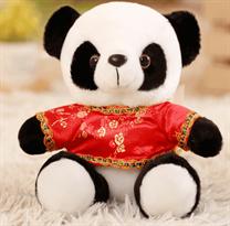 Плюшевая панда 18 см купить