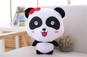 Плюшевая панда головастик 35 см купить