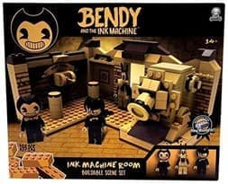 Конструктор Место действия Комната (Bendy and The Ink Machine - Room Scene) 269 деталей