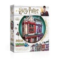 "3-D пазл Гарри Поттер ""Все для Квиддича (Quality Quidditch Supplies) 305 деталей"