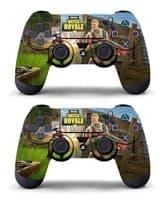 Цветная наклейка для PS4 (стикер PlayerUnknown's Battlegrounds PUBG) купить
