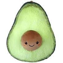 Плюшевая игрушка авокадо (светло - зеленое) 20 см купить