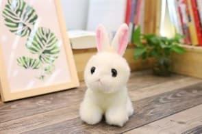 Плюшевая игрушка маленькая зайка 28 см купить