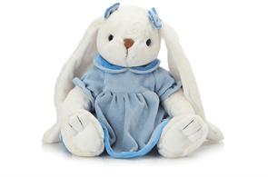 Плюшевая игрушка зайка в платье 30 см купить