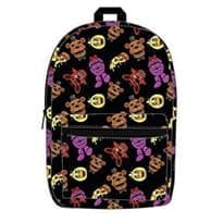 Рюкзак все герои Фнаф 1 (Allover Print Backpack Bookbag) купить