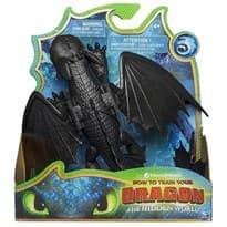 Интерактивный подвижный Беззубик (Toothless Dragon Figure) из Как приручить дракона 3 купить