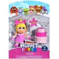 Подвижная фигурка Мисс Пигги из Малыши Маппет (MISS PIGGY Muppet Babies) 7 см купить